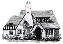 English Cotswold Cottage